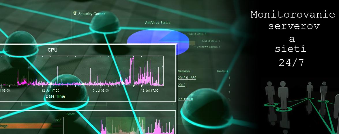 Monitorovanie sietí a serverov